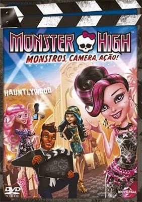 Monster High: Monstros, Câmera, Ação Dublado