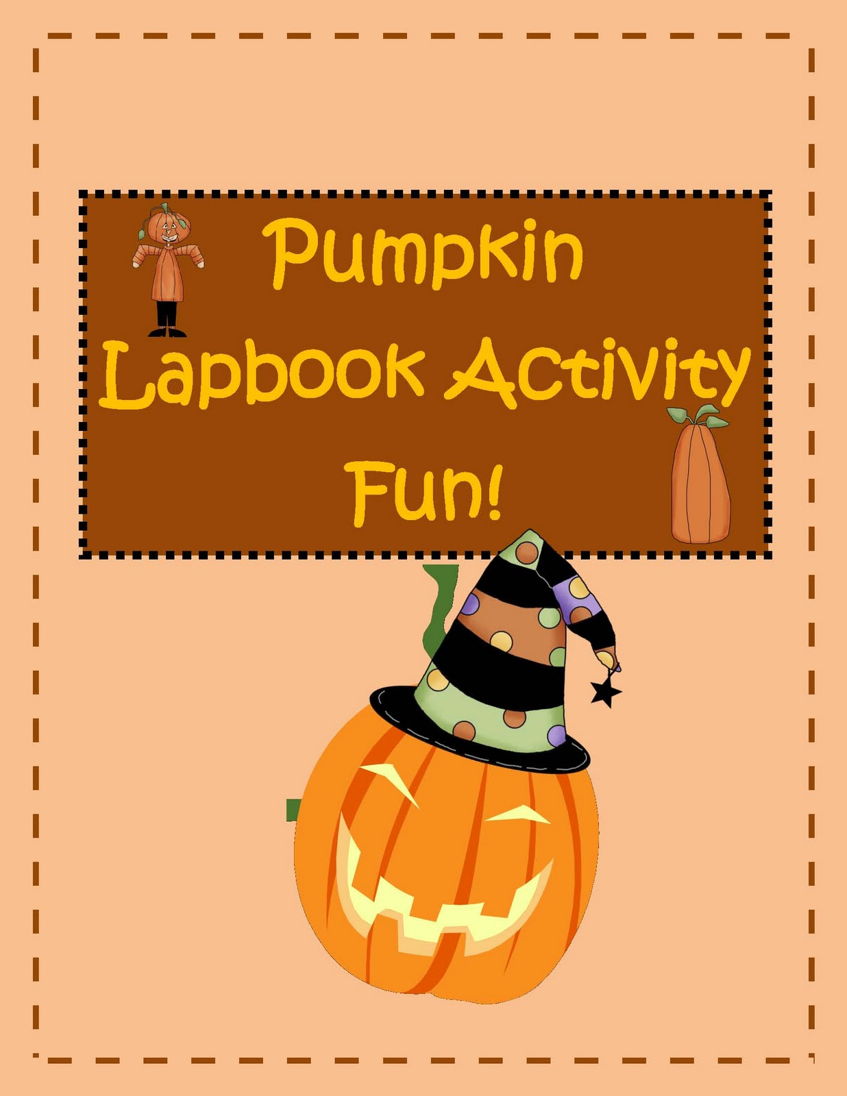 Engaging Lessons And Activities Pumpkin Lapbook Activity Fun