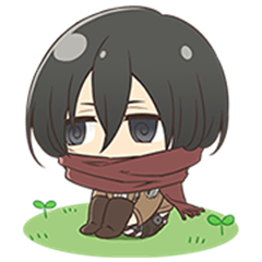 Attack on Titan Chimi-Chara 2
