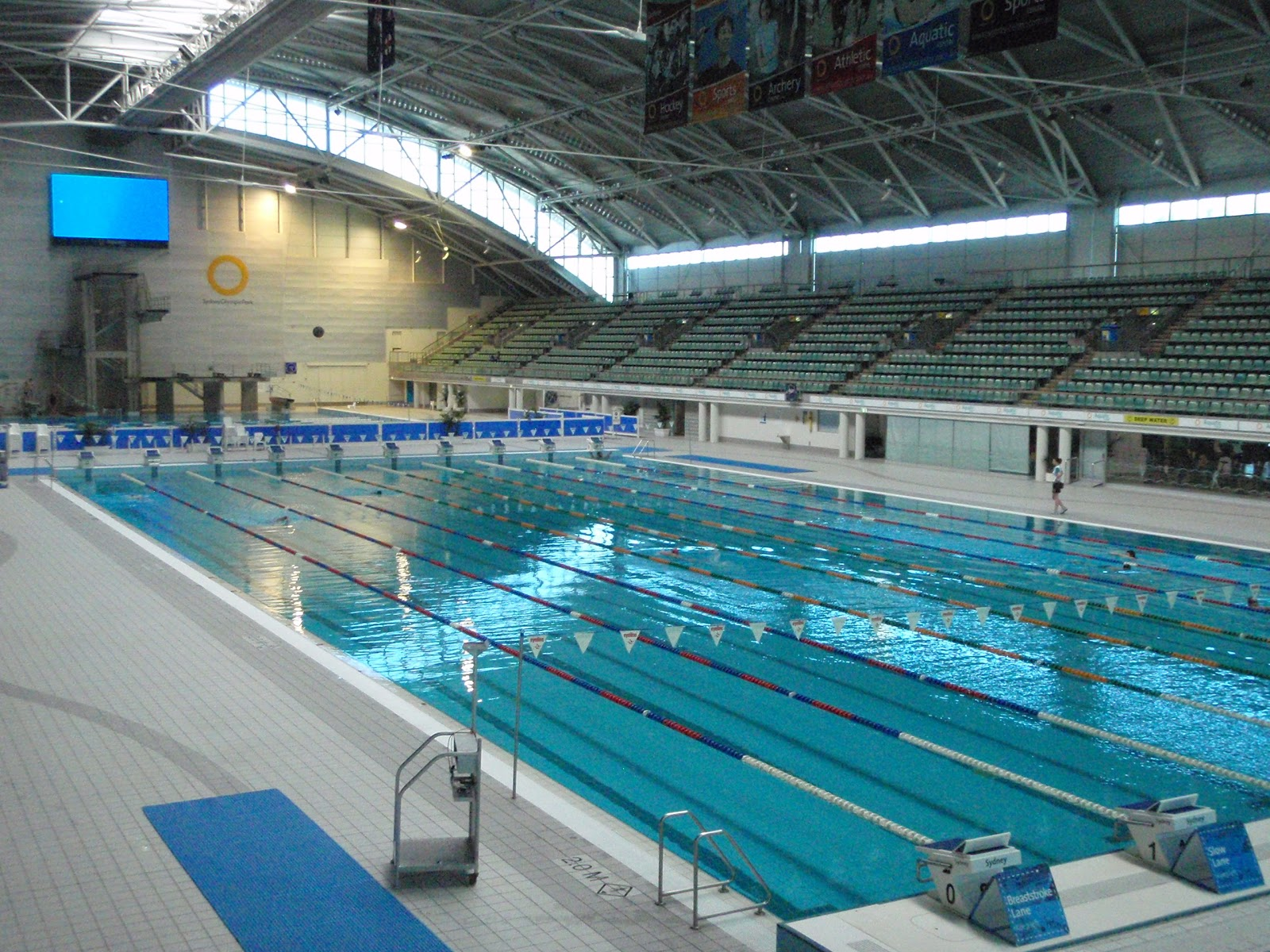 Olympic Swimming Pool 2012: Australia Adventure