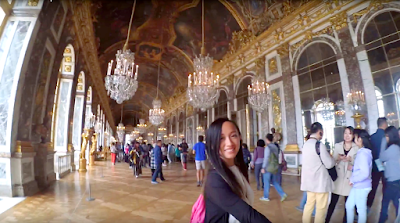 Halls of mirrors, Palace of Versailles