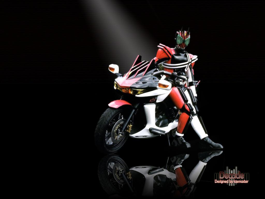 Kamen Riders: # Kamen Rider DECADE