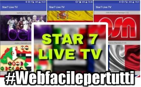 Star7 Live TV | Applicazione Con Oltre 2000 Canali TV Da Tutto il Mondo