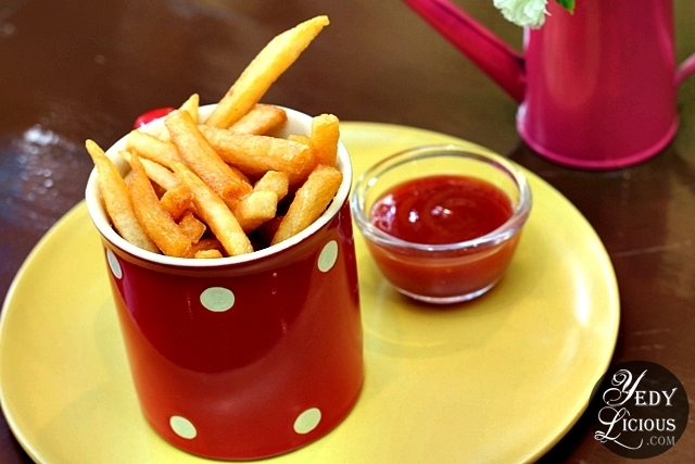French Fries at Little House of Cheesecakes