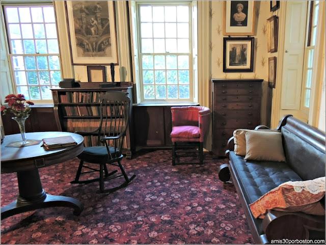Museo de Concord: Estudio de Ralph Waldo Emerson