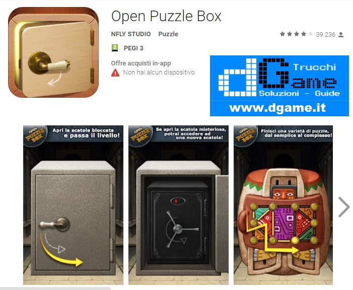 Soluzioni Open Puzzle Box di tutti i livelli | Walkthrough guide