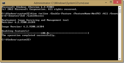 command prompt process completed