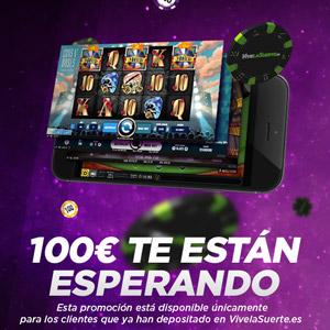 VivelaSuerte promocion 100 euros 19-21 abril
