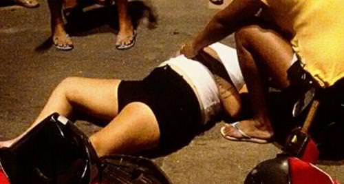 acidente em Quixeramobim