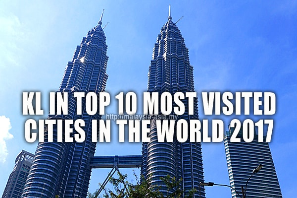 Most Visited City In The World 2017 Kuala Lumpur