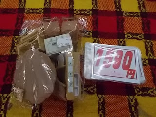 シルバニア家具ダイニングテーブル入りセット、1590円