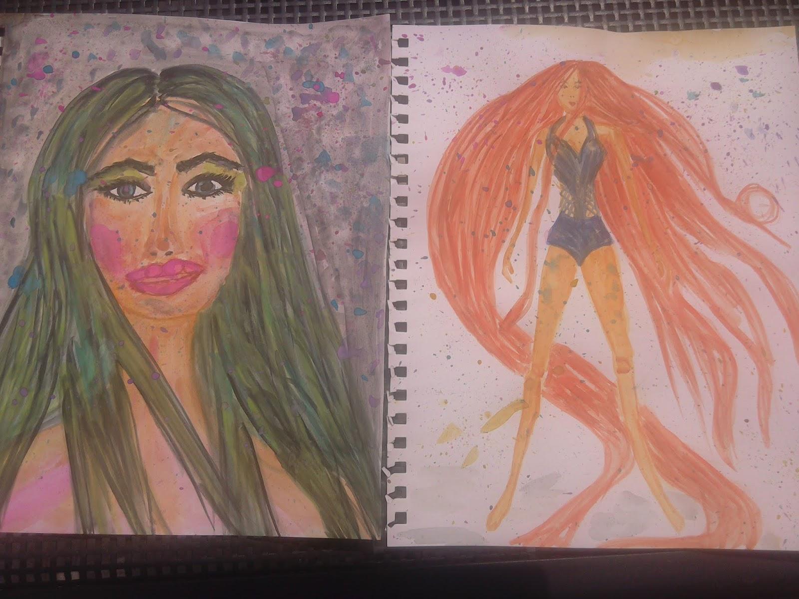 Watercolour Paintings: My Art Lately