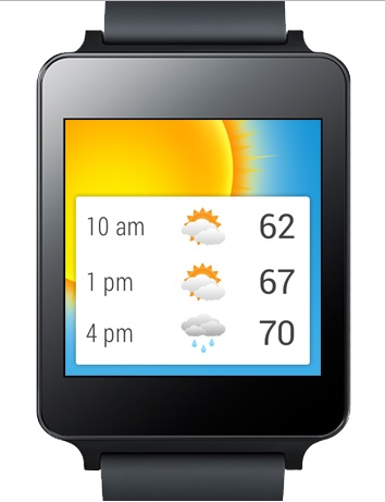 Best weather apps and weather widgets for Android Wear
