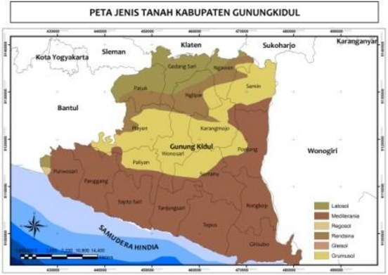 Analisis Lokasi Industri dan Pertanian pada Peta