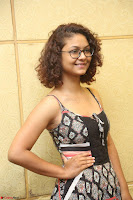 Actress Aditi Myakal Looks gorgeous in Sleeveless Deep Neck Top at Ami Tumi success meet ~  Exclusive 164.JPG