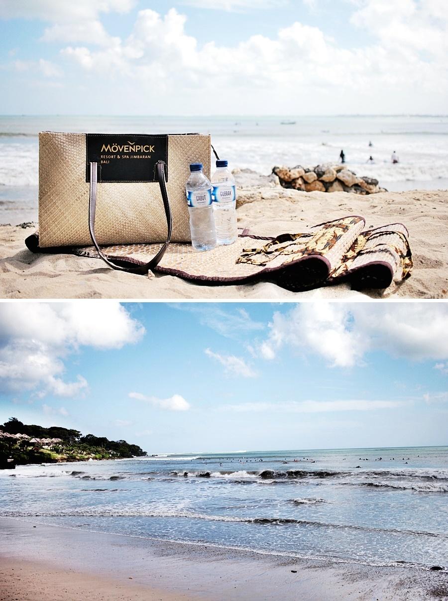 beach sand bali