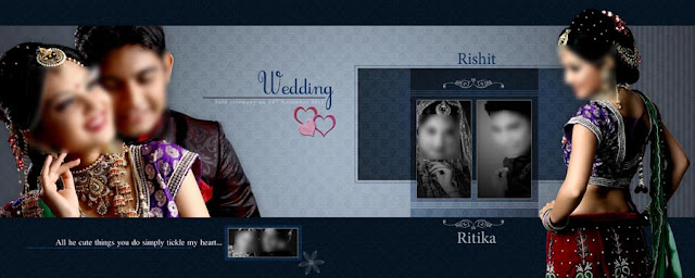 Wedding Album PSD DM