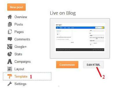 Cara menghapus atribusi blog atau tulisan diberdayakan oleh blogger
