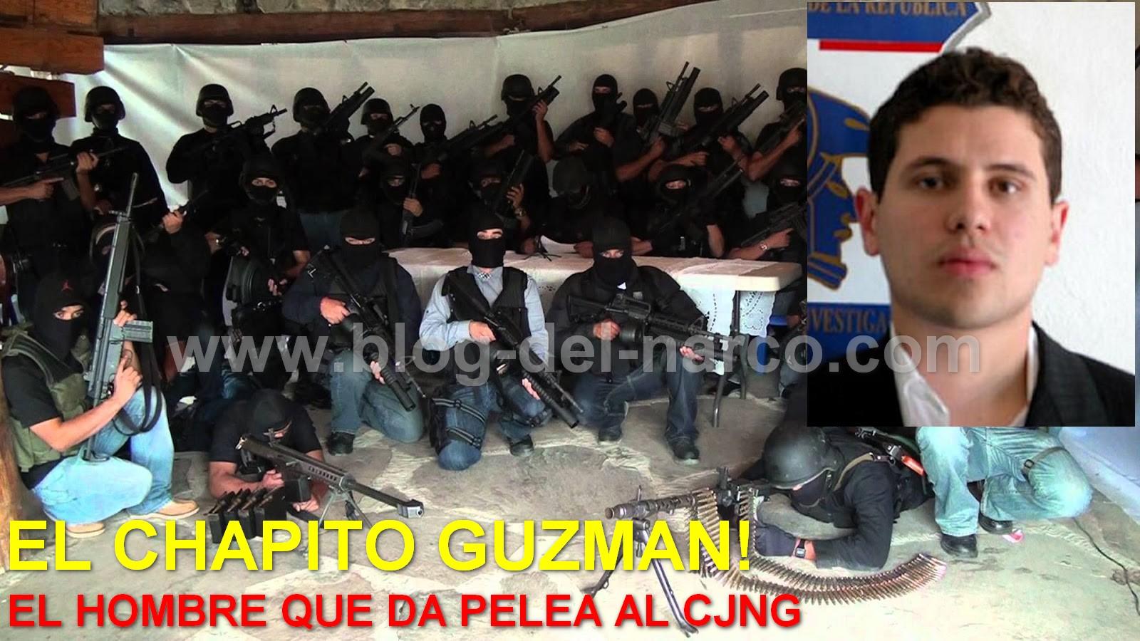 El Chapito Guzmán el hombre que pelea por el reino y le da batalla a El CJNG