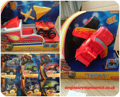Blaze and The Monster Machines Toy Review