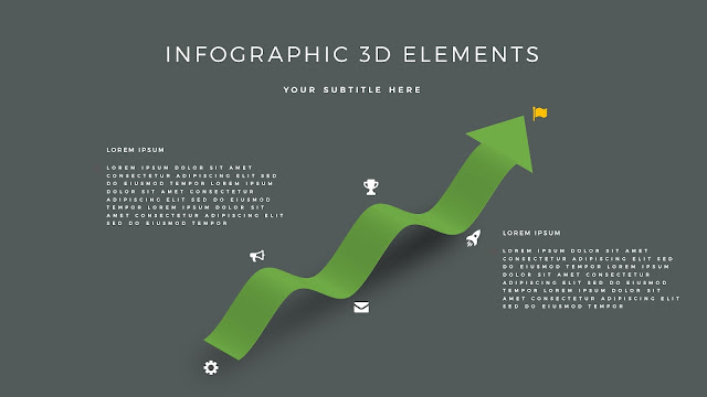 Fully Editable 3D Design Elements for PowerPoint Slide8