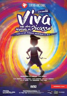 ¡VIVA! una obra inspirada en Pablo Picasso 2