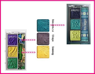 Warna-warna Eyeshadow Sariayu