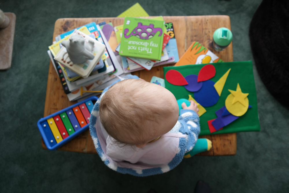 This Little Big Life: Toddler on Table