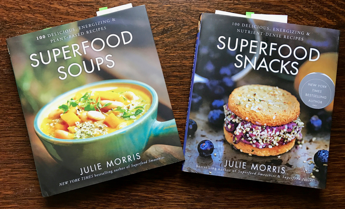 Book review julie morriss superfood soups and snacks forumfinder Choice Image