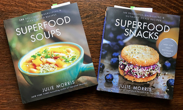Julie Morris Superfood Soups and Snacks