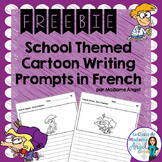https://www.teacherspayteachers.com/Product/La-Rentre-School-Themed-Cartoon-Writing-Prompts-in-French-Freebie-1330500
