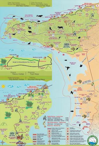 Dilek yarımadası haritası