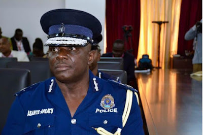 Shake-up in Ghana Police Service; Dampare 11 others moved