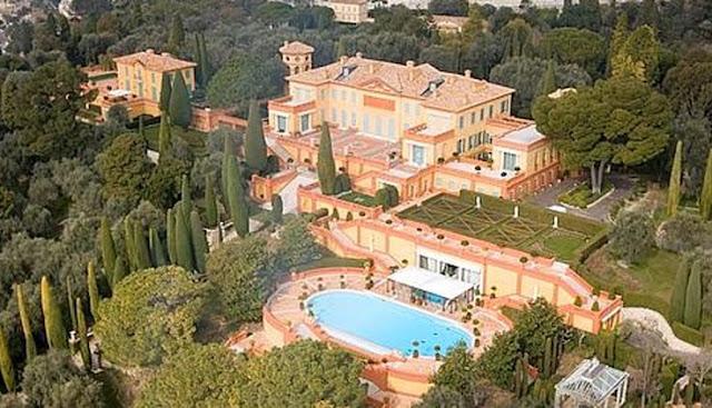 Villa Leopolda, en Villefranche-sur-mer, Francia