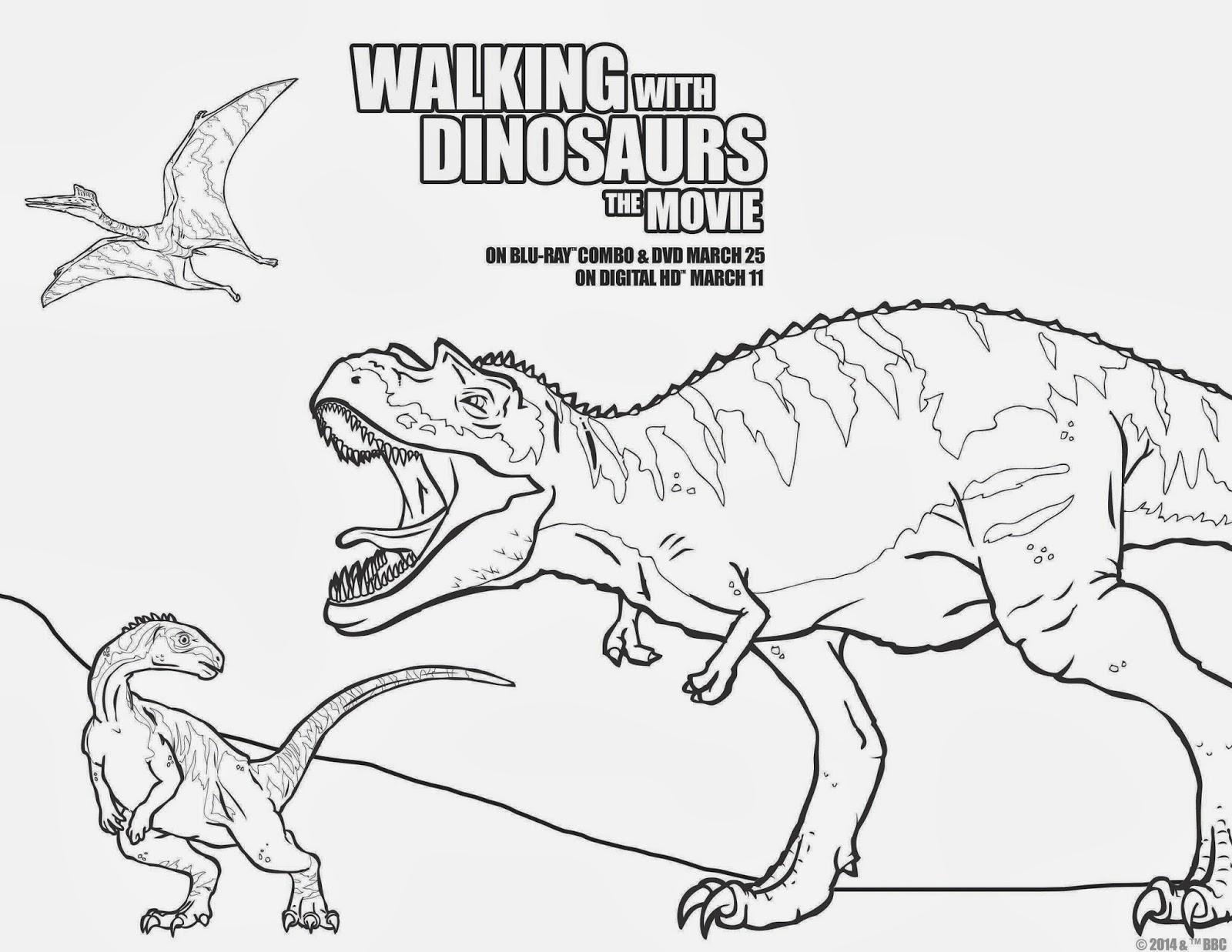 A GEEK DADDY: MOVIE GIVEAWAY: WALKING WITH DINOSAURS