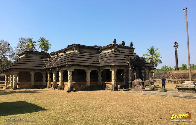 Neminatha Basadi, or Neminatha Mandir, of Varanga. A temple dedicated to Lord Neminath, the 22nd Jain Tirthankara