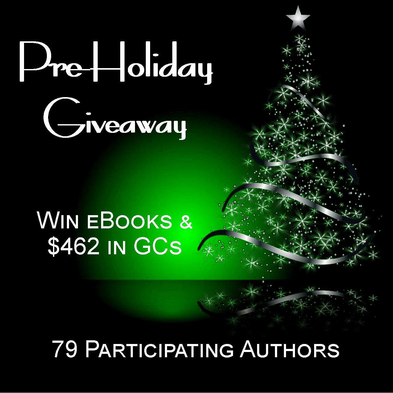 Pre-holiday Giveaway 10/01-12/01