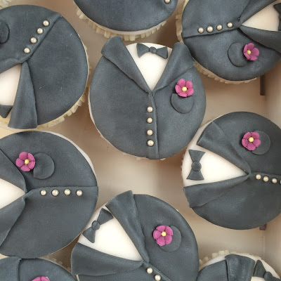 Cupcakes Braut und Bräutigam Herbst-Hochzeit in den Bergen, Lila, Orange, Riessersee Hotel Garmisch-Partenkirchen, Bayern, Autumn wedding in Bavaria, Lilac and Orange