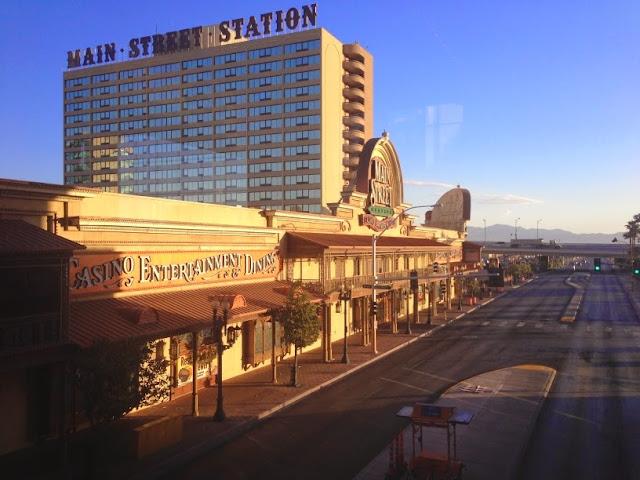 Main Street Station Hotel and Casino Las Vegas Morning