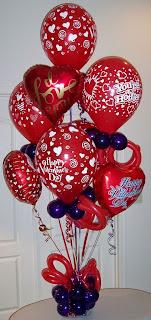 Assorted Valentine Balloons
