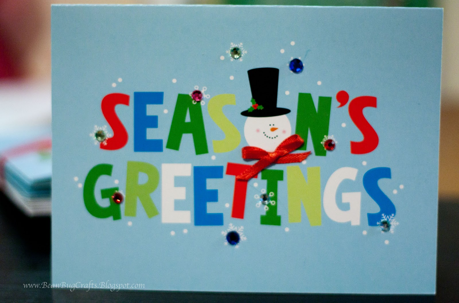 Beanbugcrafts Christmas Tutorial Semi Homemade