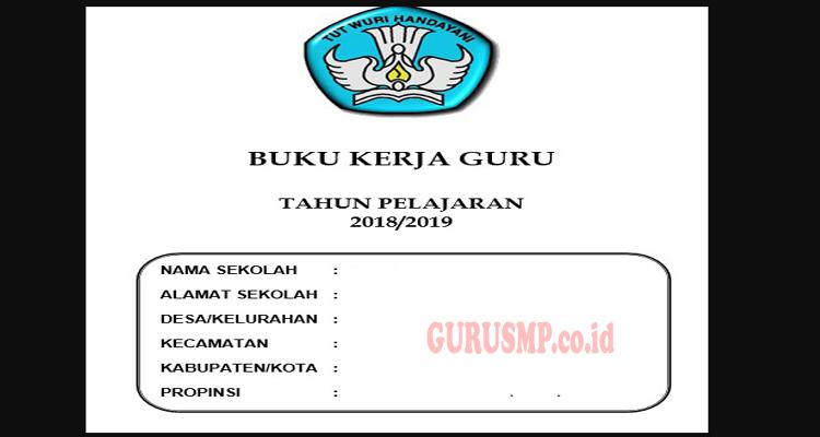 Buku Kerja Kurikulum 2013 Guru SMP Tahun Pelajaran 2018/2019