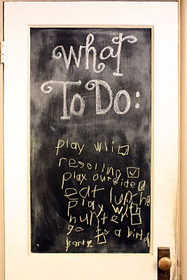 Pro or Con: Chalkboards in the Kitchen?