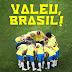 Vamos continuar na torcida pela nossa Seleção Brasileira, agora que venha a copa do QUATAR
