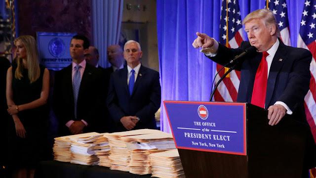 """La CNN responde a las acusaciones de Trump de publicar """"noticias falsas"""" y se distancia de BuzzFeed"""