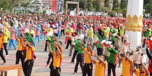 Sekira 3.000 Orang Bakal Ikuti Senam Gemu Fa Mi Re di Lapangan Merdeka Watampone