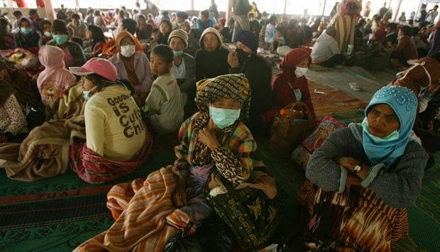 Jaminan Hidup Korban Pengungsi Sinabung Dicairkan Pekan Depan Dicairkan