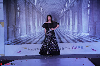 Bhagyashree and Diana Hayden walks the ramp for Mumbai Obstetrics and Gynecological Society Annual Fashion Show 010.JPG