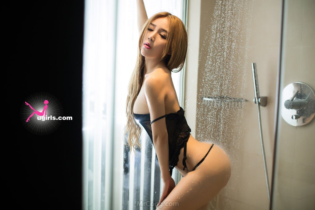 Image MrCong.com-UGIRLS-029-Liu-Mei-Chen-031 in post Người đẹp Liu Mei Chen (刘美辰) khoe body bốc lửa trong bộ ảnh UGIRLS 029