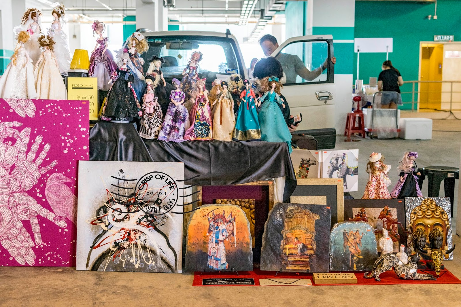 Jumping Noisy Flea Market Every First Saturday of the Month at M Mall Penang